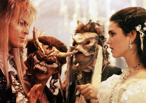 LABYRINTH, David Bowie, Jennifer Connelly, 1986, (c)TriStar Pictures/courtesy Everett Collection