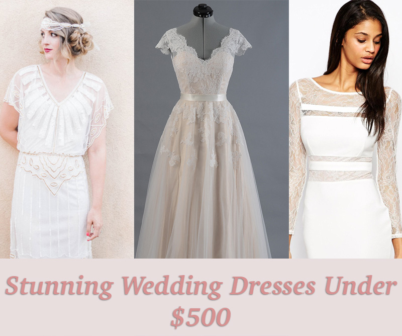 17 Seriously Stunning Wedding Dresses Under 500 Hellogiggles