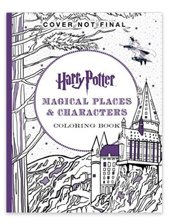 We For Real Need This Harry Potter Coloring Book