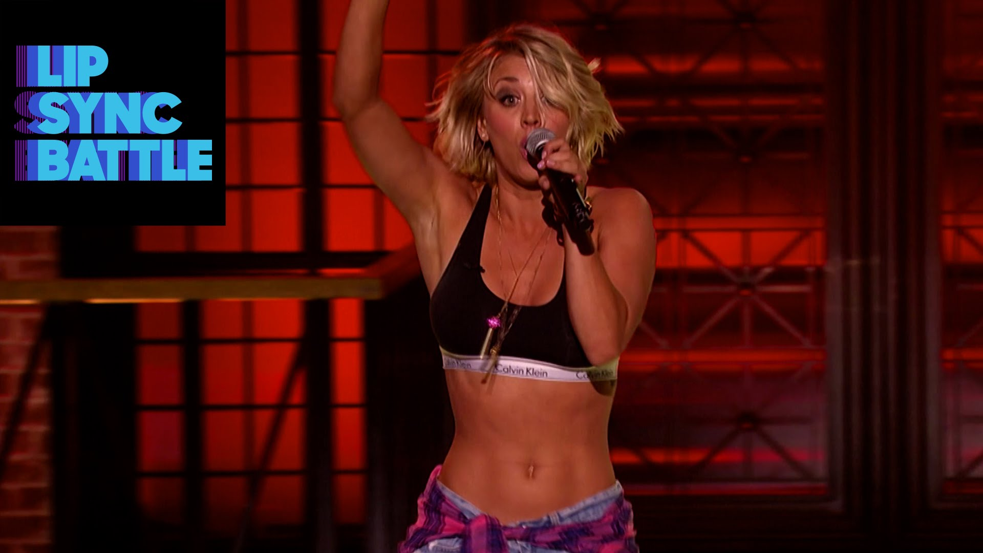Watch this clip of Kaley Cuoco lip-syncing Ludacris because it will make your night