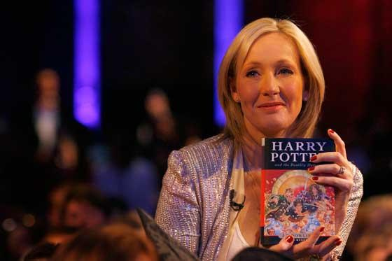 J.K. Rowling procrastinates—just like the rest of us