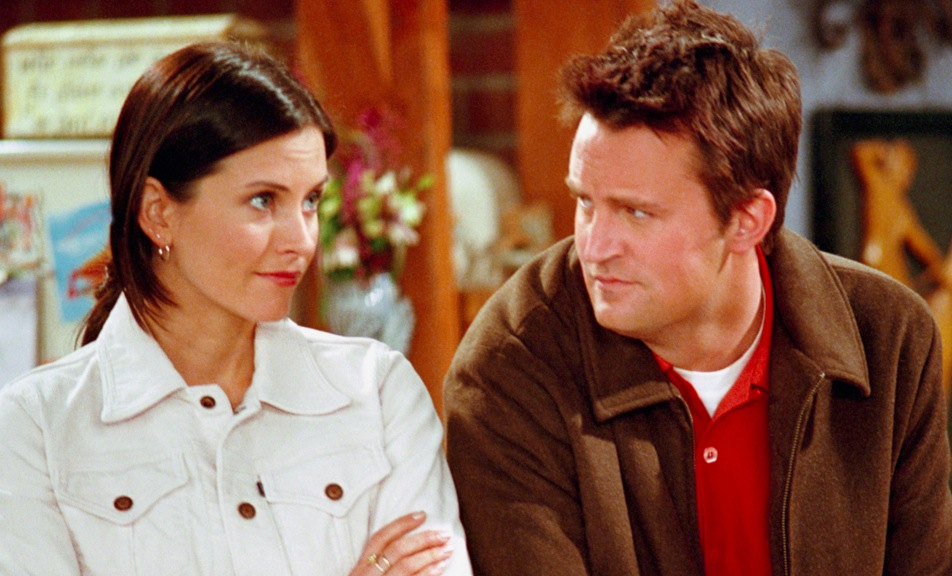 How long were monica and chandler hookup