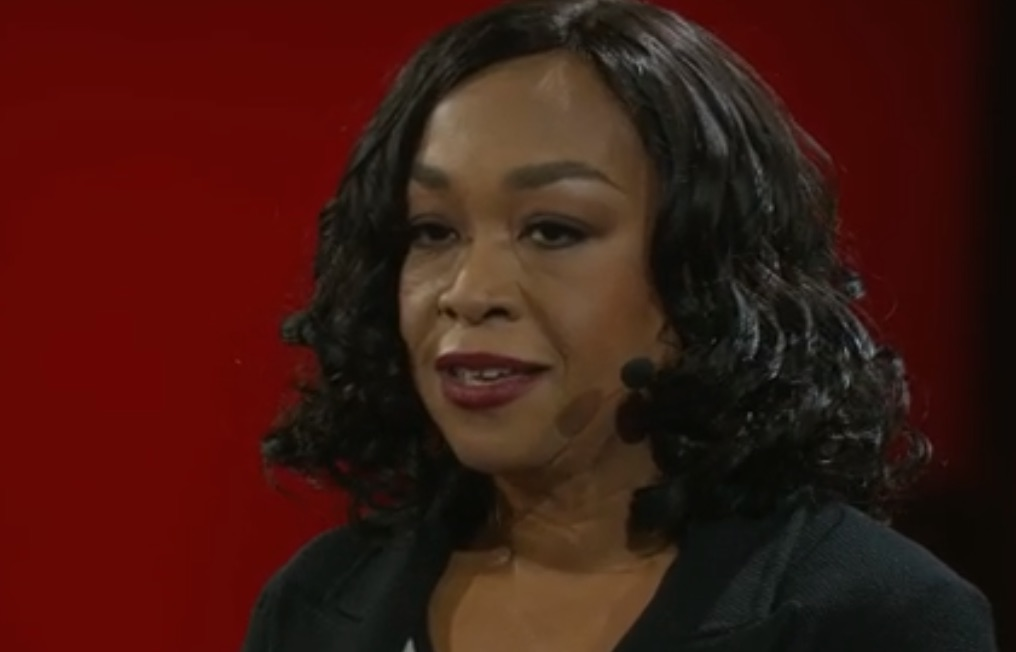 Shonda Rhimes just gave the most inspiring TED talk about the thing that saved her career