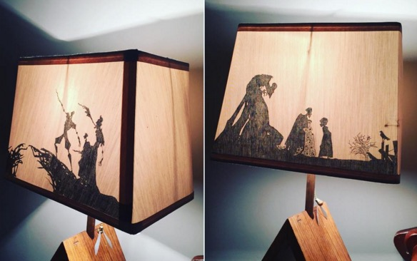 "We NEED this amazing ""Harry Potter and the Deathly Hallows"" lampshade"
