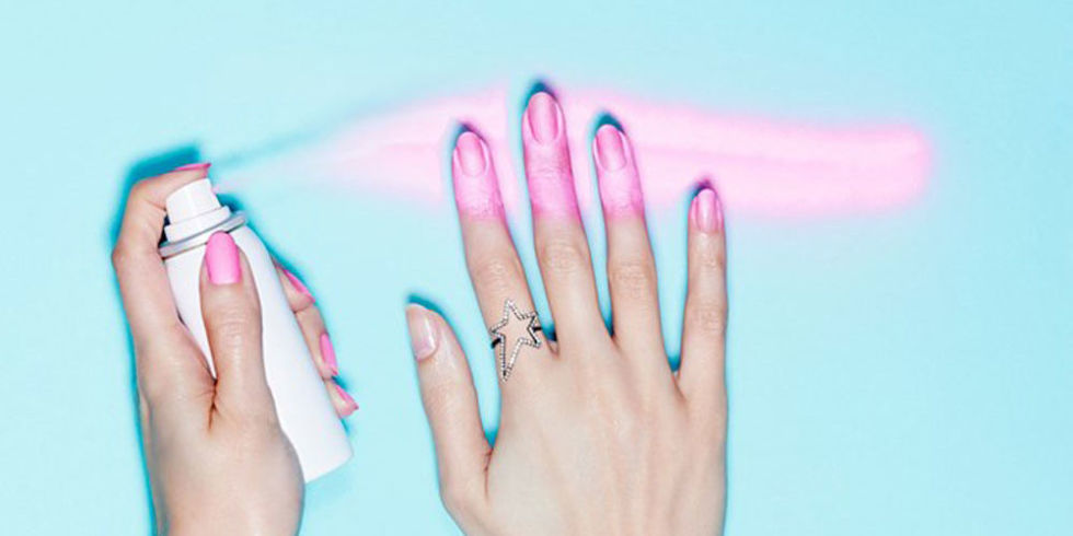 We tried the new spray-on nail polish and discovered some awesome, easy hacks