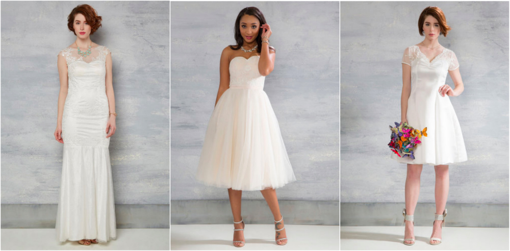 Modcloth just launched an affordable bridal line and the dresses