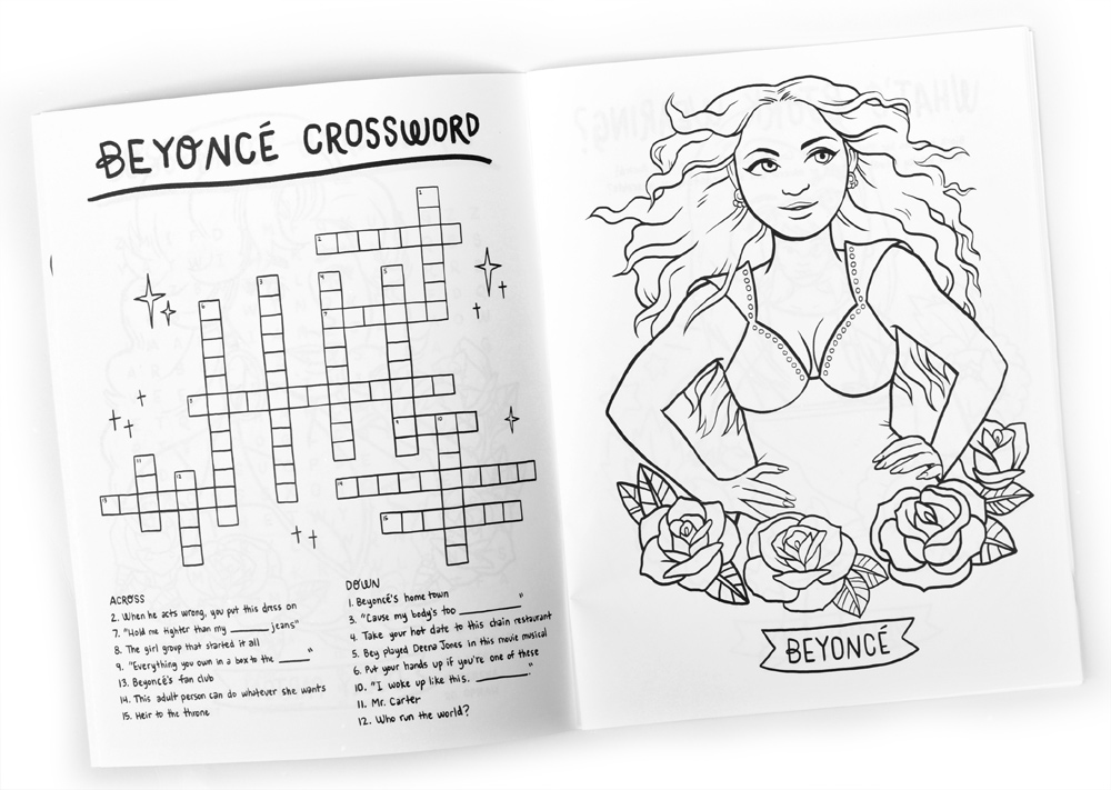Coloring Book 4 : A coloring book featuring all our favorite boss babes? yes please.