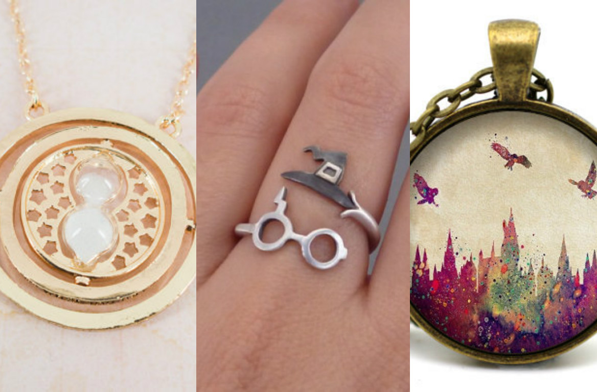 "15 pieces of ""Harry Potter"" jewelry that have us under their spell"