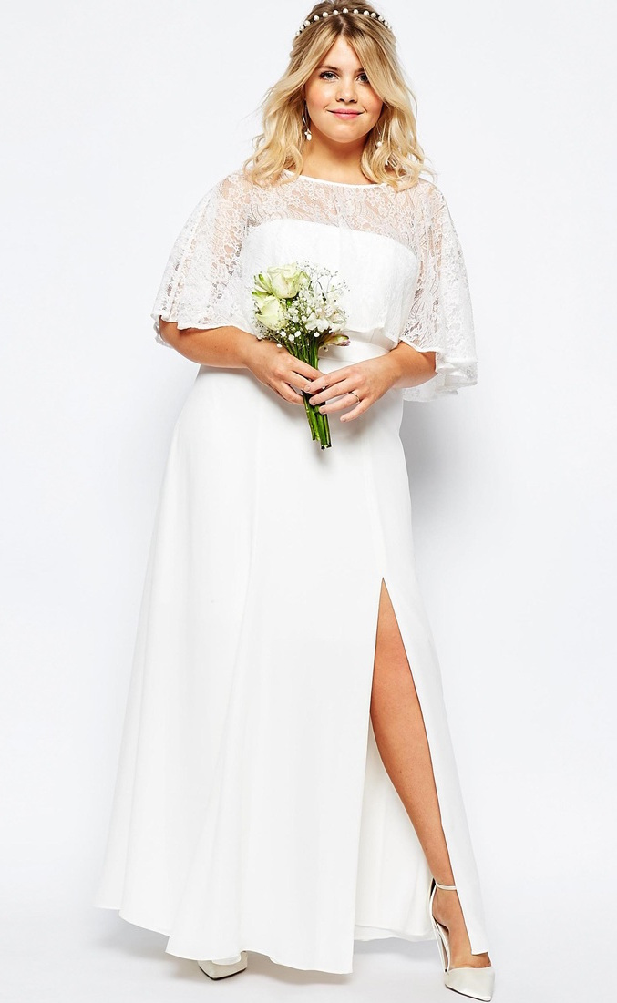 53d66f816b3 12 gorgeous plus-size wedding dresses —all under  500 - HelloGiggles
