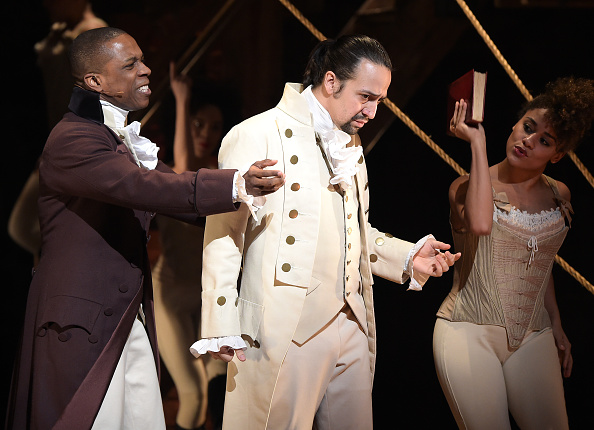 """PSA: You can audition for """"Hamilton"""" this spring!"""