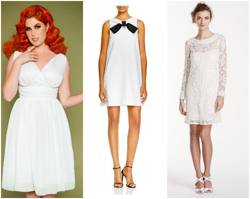 15 beautiful wedding dresses that you can easily re wear to work retro glam and mod style junglespirit Images