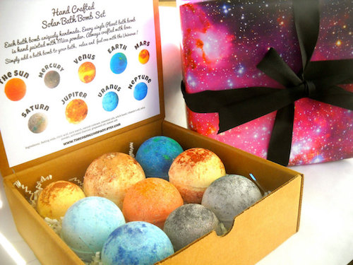 These Cosmic Bath Bombs Will Make You Feel Out Of This