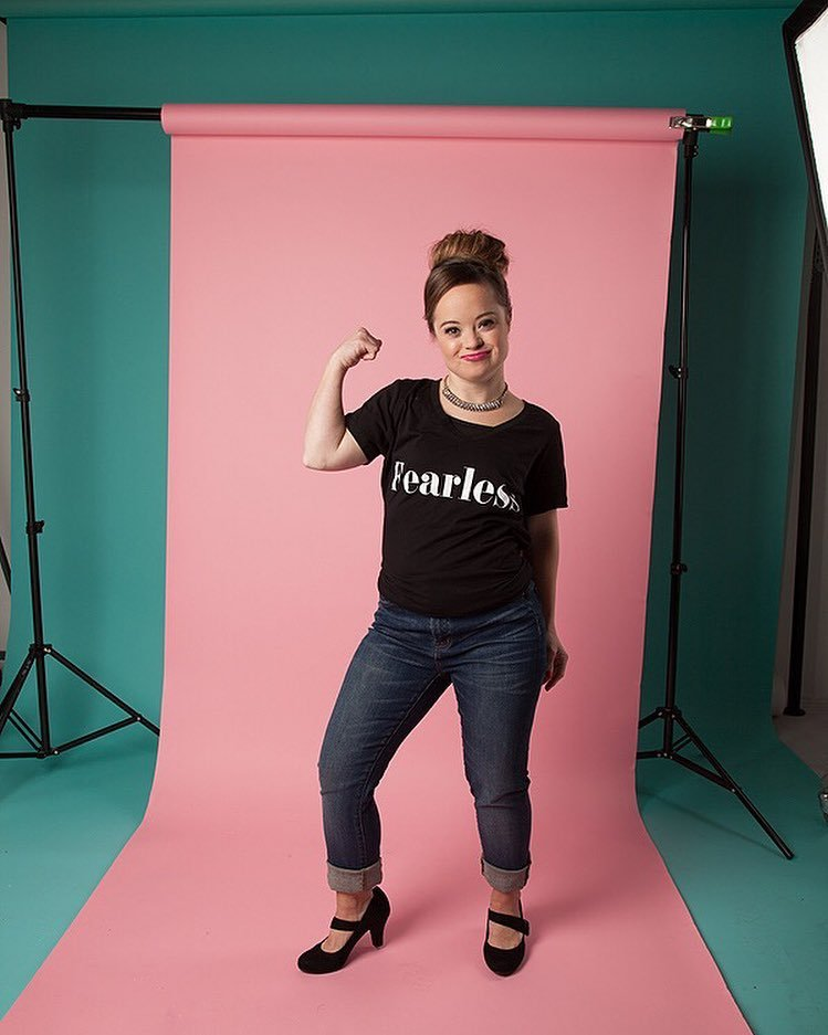 Katie Meade is breaking huge barriers for models with Down syndrome
