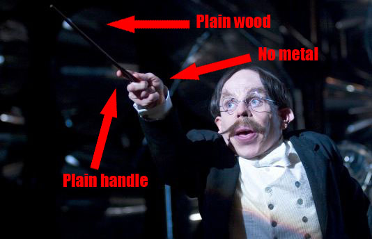 This Quot Harry Potter Quot Professor Got A New Wand In The Middle