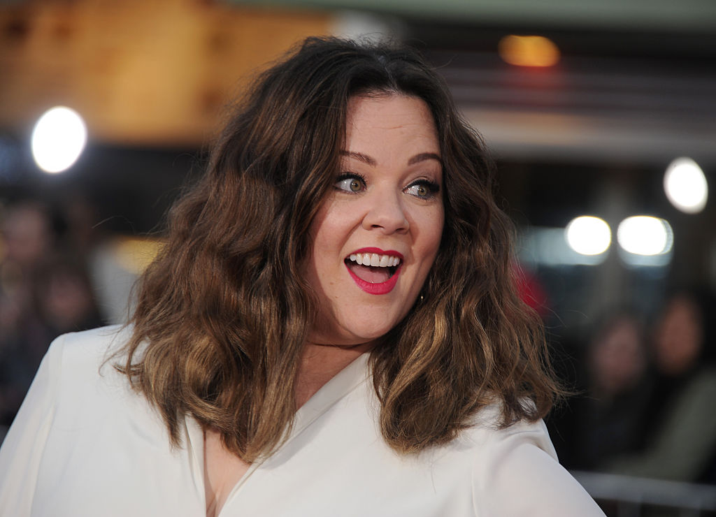 WESTWOOD, CALIFORNIA - MARCH 28:  Actress Melissa McCarthy arrives at the premiere of USA Pictures'  The Boss  at Regency Village Theatre on March 28, 2016 in Westwood, California.  (Photo by Gregg DeGuire/WireImage)