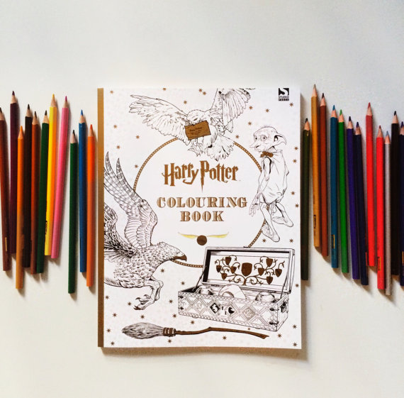 Harry Potter Adult Coloring Book By James Conors 1452