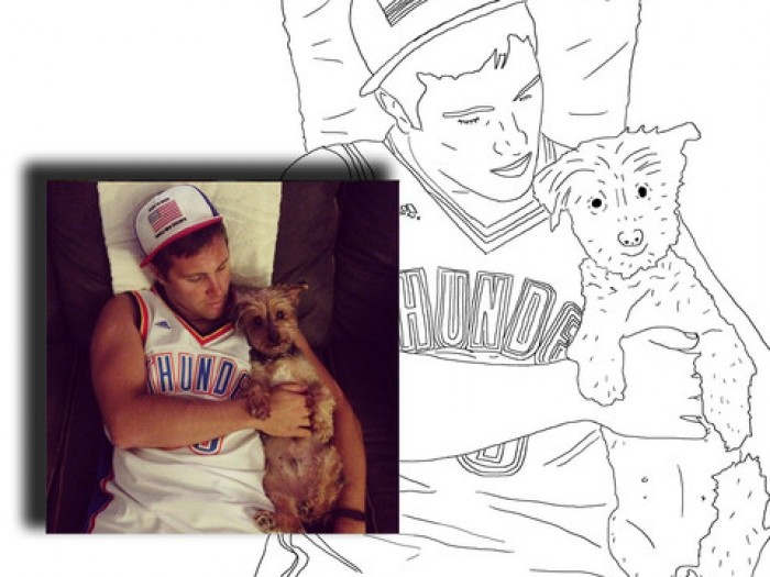 this site lets you turn your instagram feed into a personalized coloring book