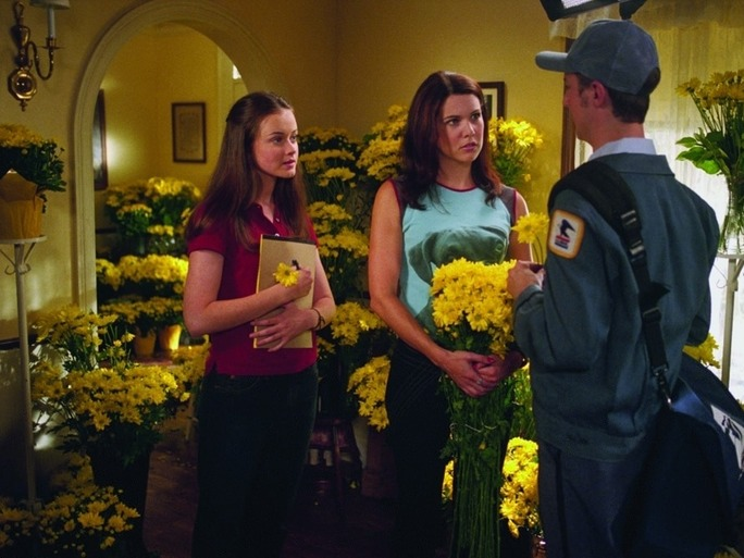 "Lauren Graham possibly dropped major news about when ""Gilmore Girls"" will land on Netflix"
