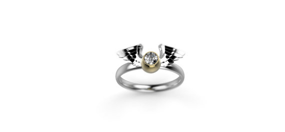 these harry potter engagement rings will absolutely enchant you - Harry Potter Wedding Rings