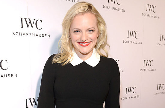 BEVERLY HILLS, CA - DECEMBER 01:  Actress Elizabeth Moss attends IWC Schaffhausen Rodeo Drive Flagship Boutique Opening on December 1, 2015 in Beverly Hills, California.  (Photo by Chris Weeks/Getty Images for IWC Schaffhausen)