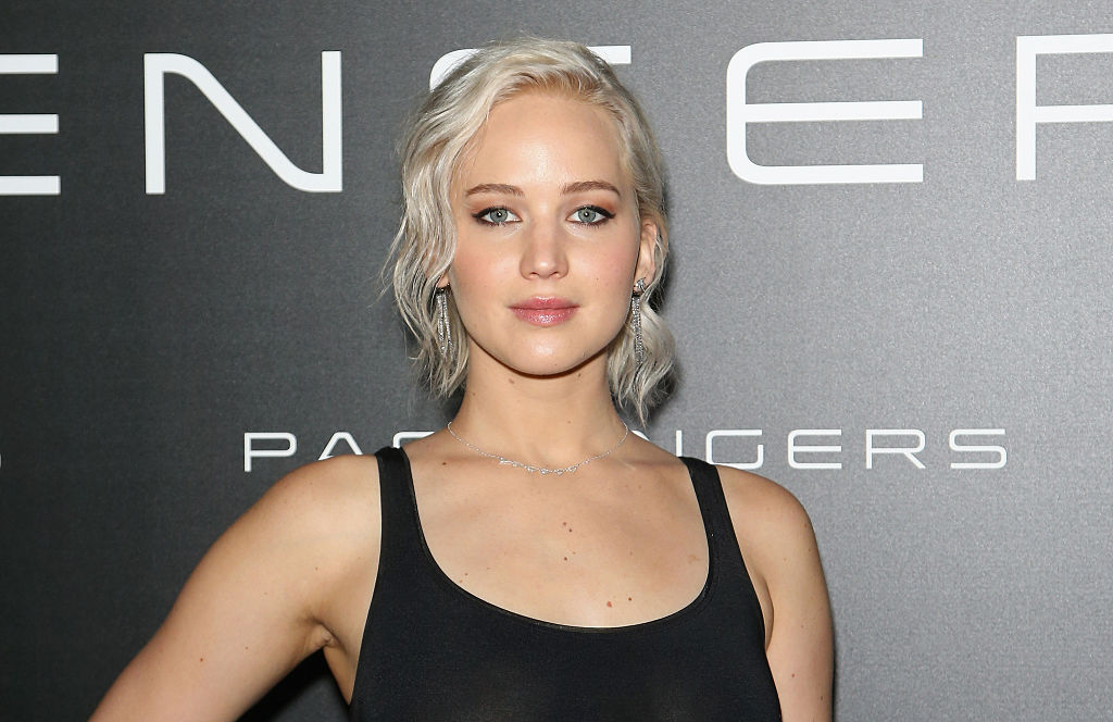 LAS VEGAS, NEVADA - APRIL 12:  Actress Jennifer Lawrence attends CinemaCon 2016 An Evening with Sony Pictures Entertainment: Celebrating the Summer of 2016 and Beyond at The Colosseum at Caesars Palace during CinemaCon, the official convention of the National Association of Theatre Owners, on April 12, 2016 in Las Vegas, Nevada.  (Photo by Gabe Ginsberg/WireImage)