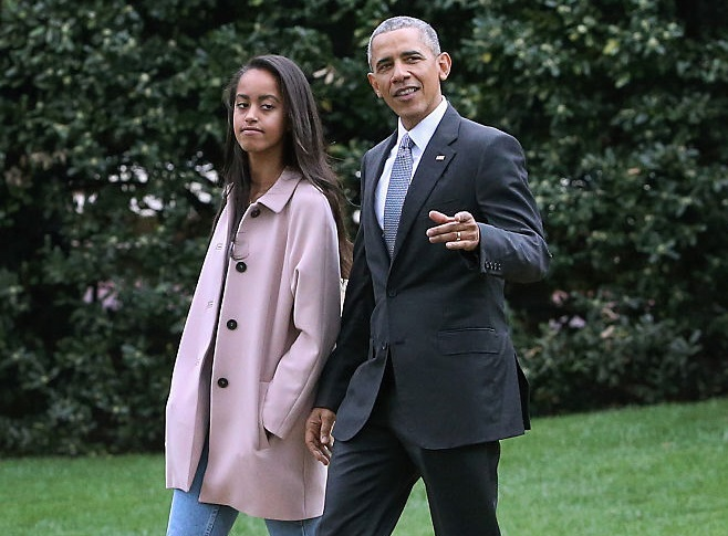 Malia Obama picks her ivy league school but there's a twist — she's taking a gap year