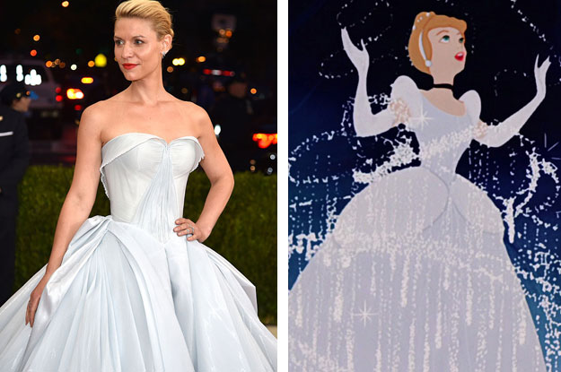 Claire Danes Is Literally Cinderella At The Met Gala