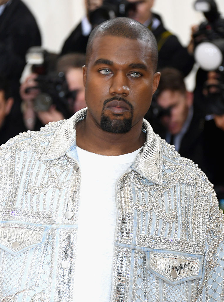 NEW YORK, NY - MAY 02:  Kanye West attends the  Manus x Machina: Fashion In An Age Of Technology  Costume Institute Gala at Metropolitan Museum of Art on May 2, 2016 in New York City.  (Photo by Larry Busacca/Getty Images)