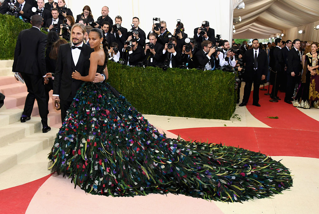 Peacock Gown