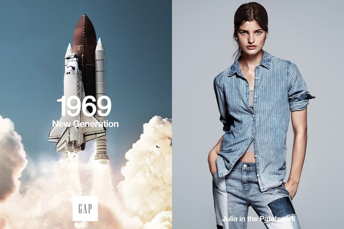 Science buffs are hilariously correcting this Gap space shuttle ad on Twitter
