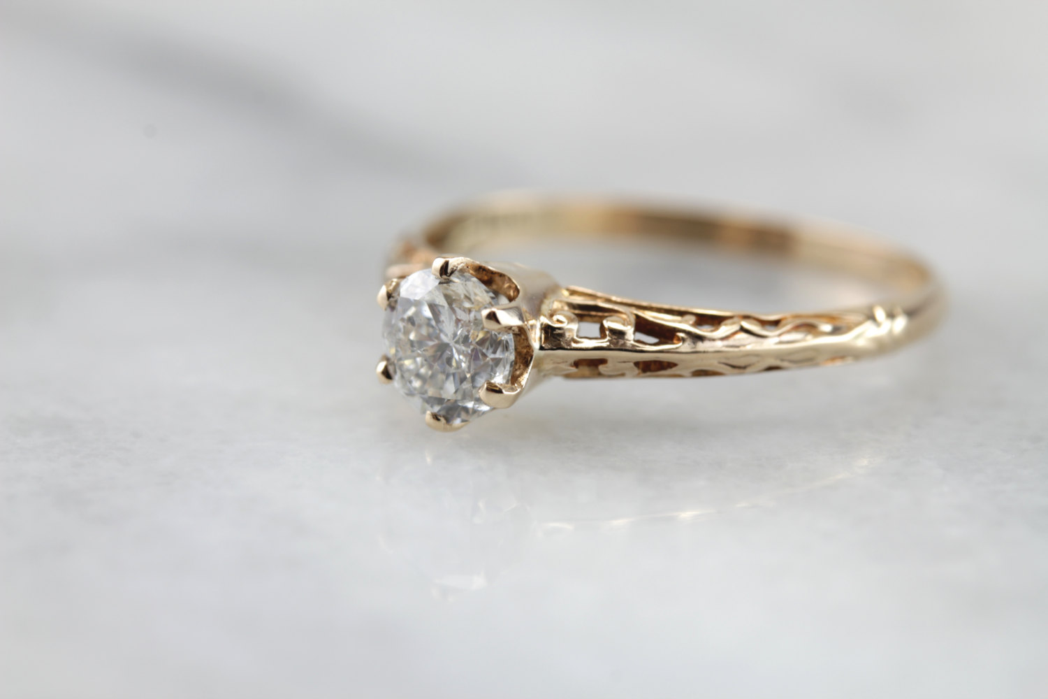 Elegant Antique Engagment Rings