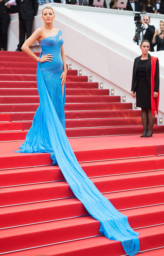 Blake Lively And Her Baby Bump Straight Up Stole The Show