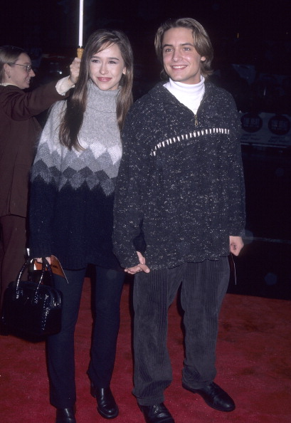HOLLYWOOD, CA - DECEMBER 5:   Actress Jennifer Love Hewitt and actor Will Friedle attend the  Daylight  Hollywood Premiere on December 5, 1996 at the Mann's Chinese Theatre in Hollywood, California. (Photo by Ron Galella, Ltd./WireImage)