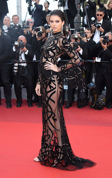 CANNES, FRANCE - MAY 15:  Kendall Jenner attends the  From The Land Of The Moon (Mal De Pierres)  premiere during the 69th annual Cannes Film Festival at the Palais des Festivals on May 15, 2016 in Cannes,  (Photo by Mike Marsland/Mike Marsland/WireImage)