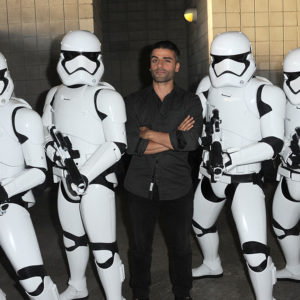 "Oscar Isaac made up many of his lines in ""Star Wars,"" because of course he did"