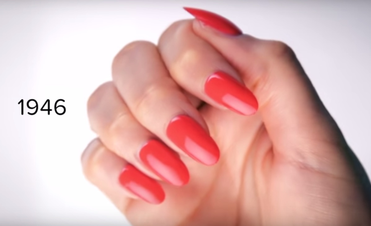 This Video Showing 100 Years Of Nail Art Is Going To Inspire You To
