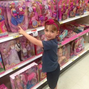 """This mom wrote an open letter to woman who gave her """"the look"""" while her son was picking out a Barbie at Target"""