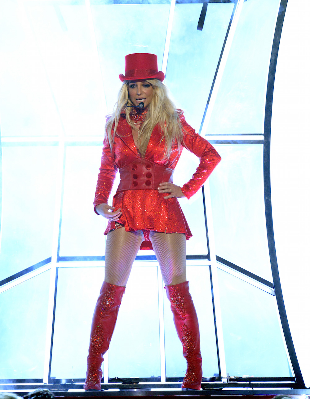 See this evolution of Britney Spears's BMA outfits and ...