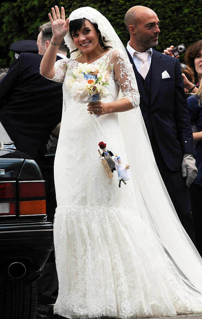 19 iconic celebrity wedding dresses that are still goals