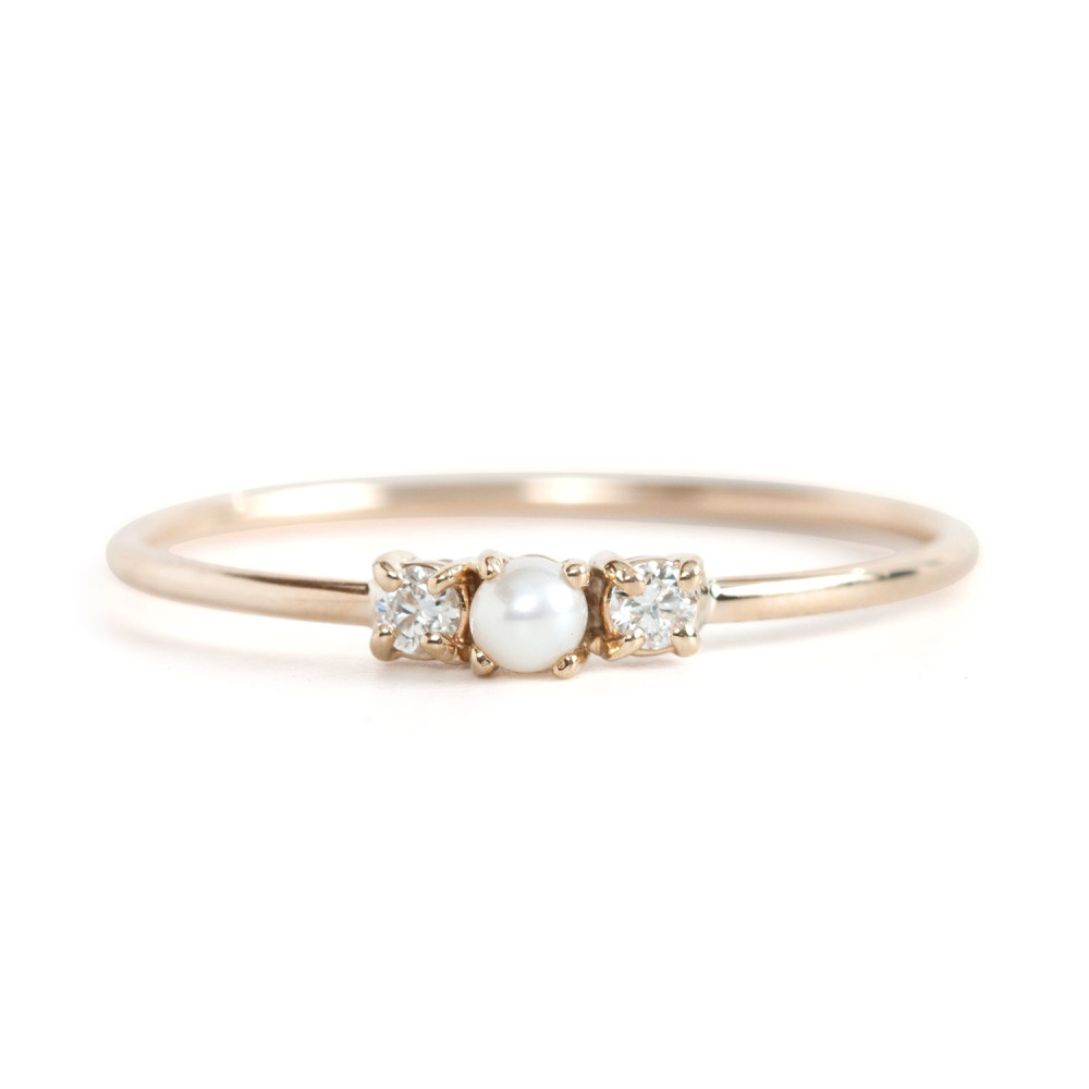 12 super tiny, gorgeous, and affordable engagement rings ...