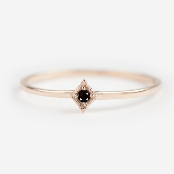 Well-known 12 super tiny, gorgeous, and affordable engagement rings  WU15