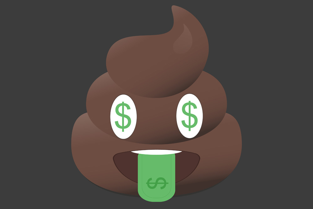 You could get paid to poop...for science
