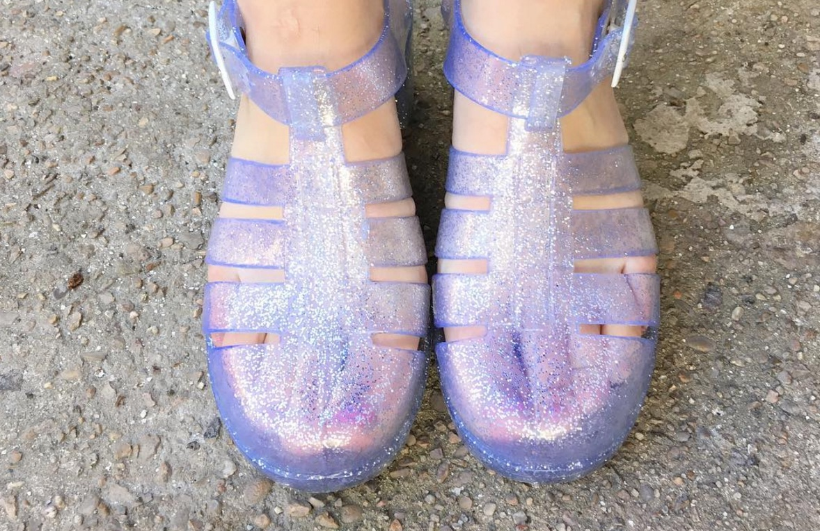 Jelly sandals are back and here's where to get them