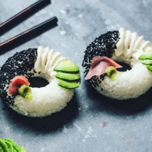 The sushi donut is now a thing, and we're all about it