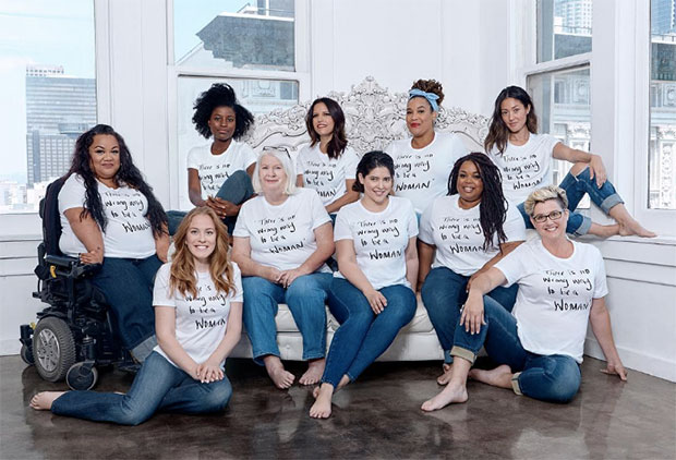 We're in love with this campaign that proves there's no wrong way to be a woman