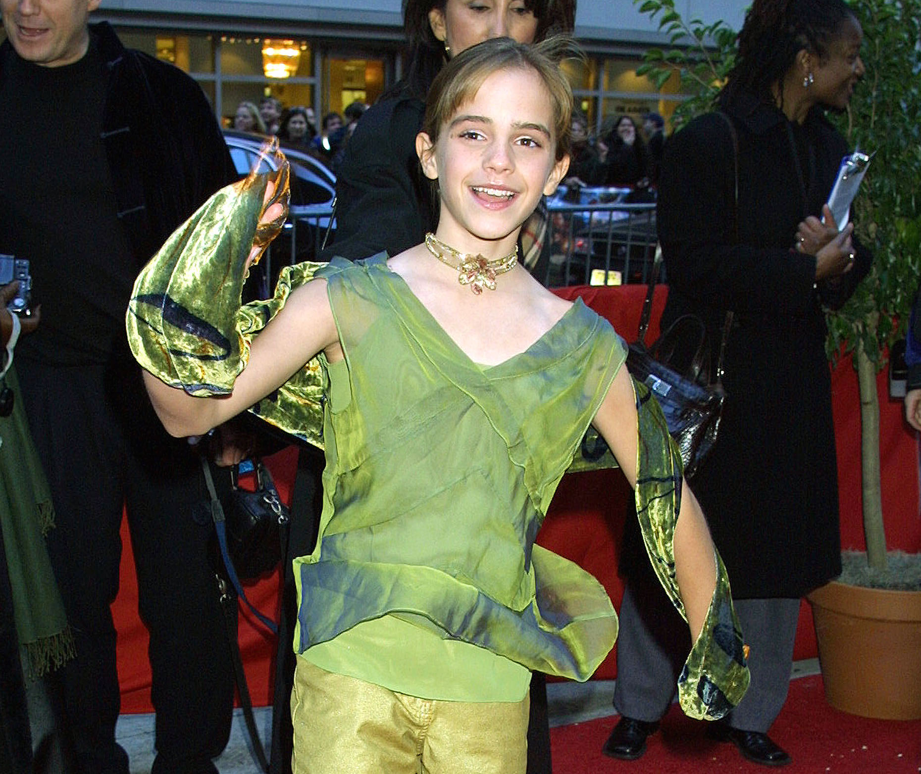 Never Forget That Emma Watson Looked Adorably Like Peter
