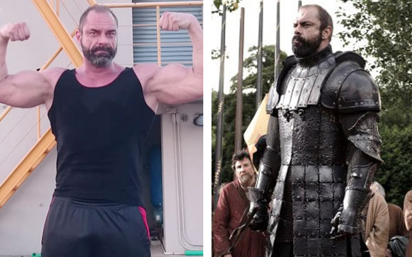 Three different men played The Mountain on