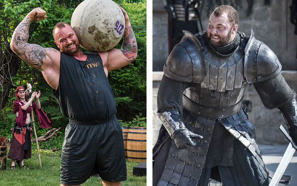 """Three different men played The Mountain on """"Game of ..."""