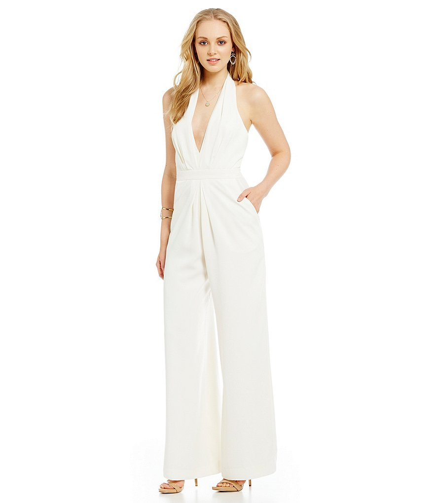 234cd06d1f6 11 chic AND affordable wedding jumpsuits — because yes you can wear ...