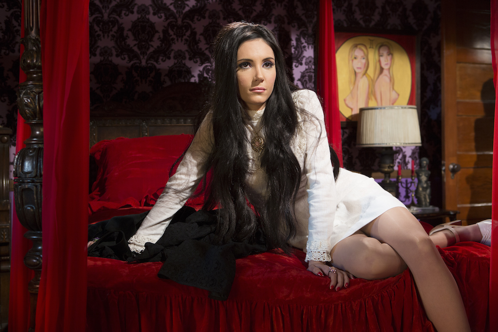 love witch white dress